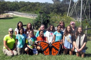 Dedication of a Monarch Waystation at Brazos Bend State Park - Girl Scout Troop 27119 Pearland